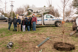 NPPD Plants 9 Trees In Chadron State Park As Early Arbor Day Gift