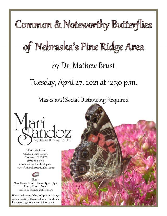 Butterfly Talk at Sandoz Center