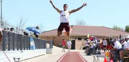 CSC Long Jumper Takes National Lead