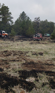 Fire Southeast Of Crawford Burns 8 Acres