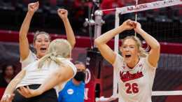 Four Huskers Named To AVCA All-North Region Team