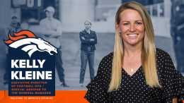 Broncos' Kleine Highest-Ranking Female Scouting Exec In NFL
