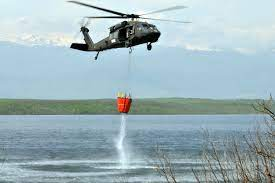 Helicopter Firefighting Qualification Using Angostura Reservoir