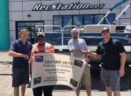 CSC Student Helps Veterans Through Fishing