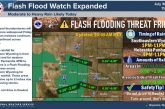 Flash Flood Watch Expanded In Wyoming