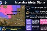 Incoming Winter System Tuesday