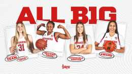 Haiby Heads Husker All-Big Ten Honors