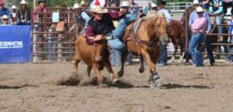 Two CSC Cowboys Place High In Dogging