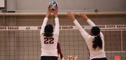 CSC Volleyball On The Road For Last RMAC Match