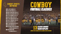 Wyo Football Classics To Air This Fall On Cowboy Sports Network