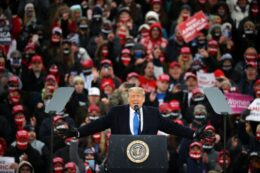 Trump Energizes Omaha Crowd