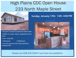High Plains Community Development Open House For Latest Project