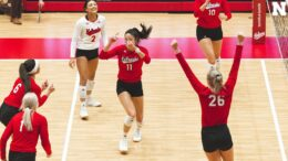 Huskers Sweep Indiana In Season Debut