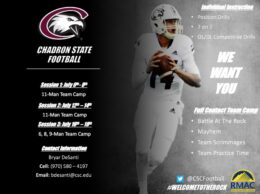 Athletic Camps Taking Place At Chadron State