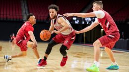 New-look Cornhuskers Cruise In Season Opener 102-55