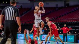 Huskers Hold Off South Dakota 76-69