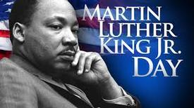 It's Martin Luther King Jr Day
