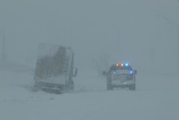 Major Snowstorm Keeps NSP Busy Monday