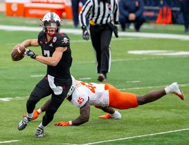 Turnovers Cost Huskers In 41-23 Loss To Illinois