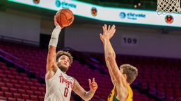 Huskers 2-1 After 79-57 Win Over North Dakota State