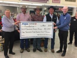 Albertson's/Safeway Foundation Donates $1,450 To Oelrichs Rodeo