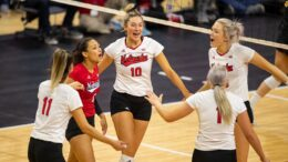 5th-Ranked Husker VB Team Opens Season At Indiana