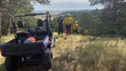 Firefighters From 4 States Getting Wildland Training In The Wildcat Hills This Weekend
